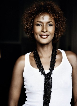 Somalian supermodel and bestseller author Waris Dirie